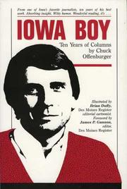 Cover of: Iowa Boy by Chuck Offenburger