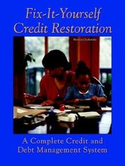 Fix-it-yourself credit restoration by Brenda Ojofeitimi