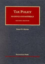 Tax policy PDF