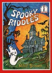 Spooky riddles by Marc Tolon Brown, Dr. Seuss
