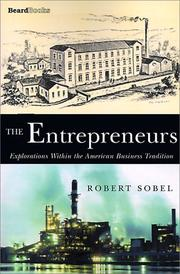 The entrepreneurs by Sobel, Robert