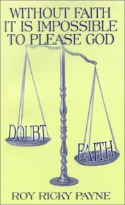 Without Faith It is Impossible to Please God PDF