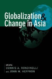 Globalization and Change in Asia PDF