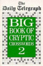 The Daily Telegraph Big Book of Cryptic Crosswords 2 (Crossword) PDF