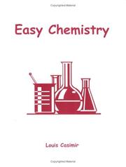 Easy chemistry by Louis Casimir