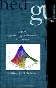 Applied Engineering Mathematics with Maple