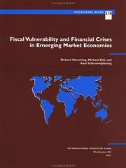 Fiscal vulnerability and financial crises in emerging market economies PDF