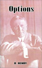 Cover of: Options by O. Henry