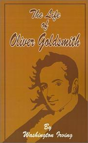 Cover of: Life of Oliver Goldsmith by Washington Irving