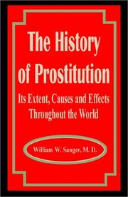 The history of prostitution by William W. Sanger