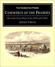 Commerce of the prairies by Josiah Gregg