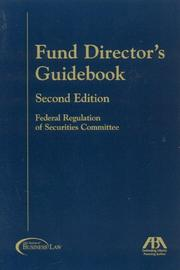 Fund Director's Guidebook, Second Edition (Fund Director's Guidebook) PDF