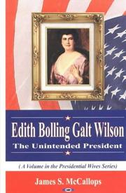 Edith Bolling Galt Wilson by James S. McCallops