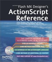 Macromedia Flash MX Designer's ActionScript Reference PDF