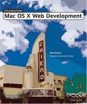 Foundation Mac OS X Web Development by Phil Sherry