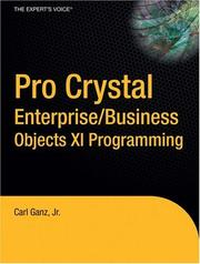 Pro Crystal Enterprise / BusinessObjects XI Programming (Pro) PDF