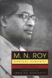 Cover of: M.N. Roy: Radical Humanist by Innaiah, N.