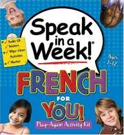 Speak in a Week French for You (Speak in a Week) PDF