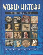 World History Continuity & Change PDF