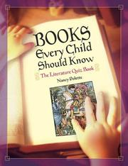 Books Every Child Should Know by Nancy Polette