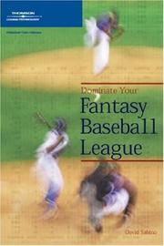 Dominate Your Fantasy Baseball League PDF