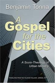 Gospel for the cities by Benjamin Tonna