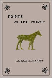 Points of the horse by M. Horace Hayes