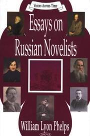 Essays on Russian novelists PDF