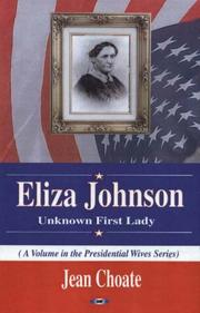 Eliza Johnson by Jean Choate