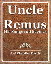 Uncle Remus - 1921 PDF