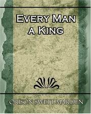 Every Man a King PDF