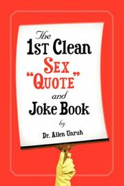 The 1st Clean Sex Quote and Joke Book PDF