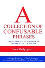 A Collection Of Confusible Phrases PDF