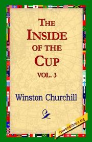 Cover of: The Inside of the Cup by Winston Churchill