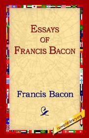 essays of bacon