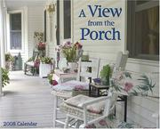 A View From the Porch 2008 Calendar PDF