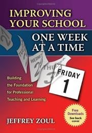 Improving Your School One Week at a Time PDF