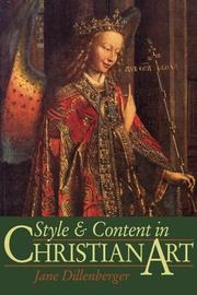 Style and content in Christian art by Jane Dillenberger