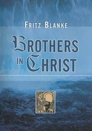 Brothers in Christ by Fritz Blanke