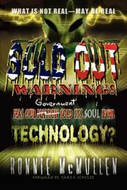 Sold Out Warning by Ronnie, McMullen