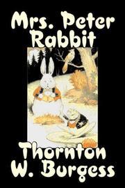 Mrs. Peter Rabbit PDF