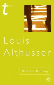 Louis Althusser (Transitions (Palgrave Macmillan (Firm)).) PDF