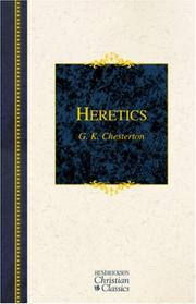 Heretics by G. K. Chesterton