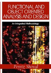 Functional and Object Oriented Analysis and Design PDF
