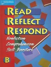 Read Reflect Respond B (Read Reflect Respond) PDF