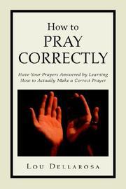 How To Pray Correctly PDF