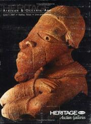 HGAF African & Oceanic Art Auction Catalog #645 PDF