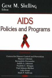AIDS Policies And Programs PDF