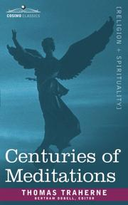 Centuries of meditations PDF