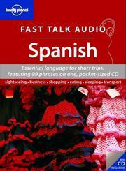 Lonely Planet Fast Talk Audio Spanish (Fast Talk Guide) PDF